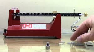 beginning reloading video 10 hornady beam type scale youtube