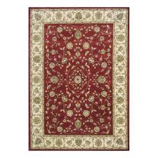 Red Patterned Rug Oriental Area Rugs Rugs The Home Depot