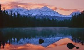 Oregon mountains images Three sisters sunrise quot scott lake mike putnam photography jpg