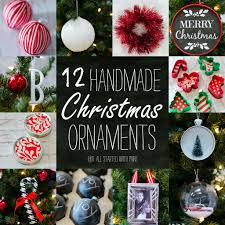 How To Make Homemade Ornaments by Handmade Ornament Ideas
