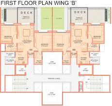 Grandeur 8 Floor Plan by 1700 Sq Ft 3 Bhk 3t Apartment For Sale In Lalani Kohinoor Grandeur