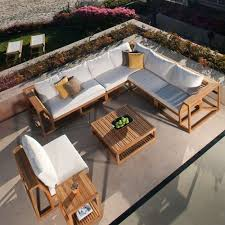 Teak Sectional Patio Furniture 17 Best Teak Sectional Sofas Images On Pinterest Teak Outdoor