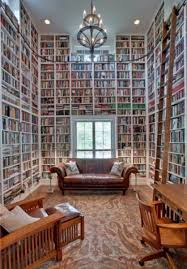 Tall Bookcase With Ladder by Home Library Ladder Home Library With Ladder House Ideas Pinterest