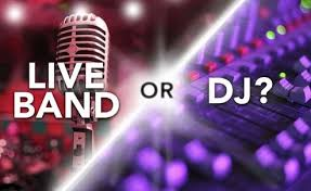 wedding band or dj bands and djs v s djs alone professional wedding dj covering