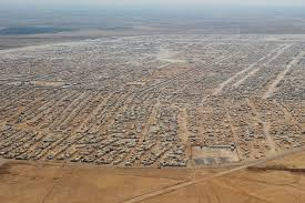 syrian desert syria refugee camp aerial pictures of desert home of 160 000 that