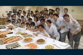 cours de cuisine lons le saunier sport local école tsuji japonais et émissaires de l