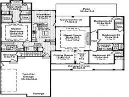 Farm House House Plans Farmhouse Floor Plans With Wrap Around Porch Traditional House Two