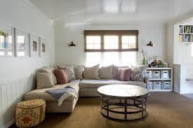 Living Room Beadboard Walls Design Ideas - Family room size