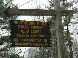 Harold Parker State Forest Map by Gone Hikin U0027 Wurtsboro Ridge State Forest Ny