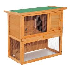Cheap Rabbit Hutch Pawhut 35