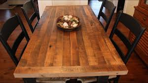 butchers block table top youtube