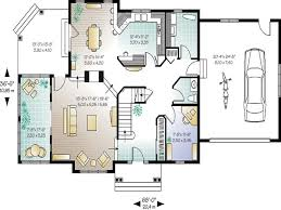 stunning open concept house plans one story contemporary best