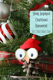 a one of a children s book story owl ornament