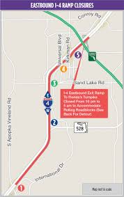Florida Turnpike Map by Eastbound I 4 Rolling Roadblock From Apopka Vineland Road To