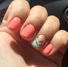 daisy dnd shellac soft orange polished pinterest nail polish