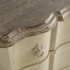 redo option soft metallic champagne body white washed wood