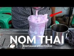 cara membuat thai tea latte chapayom tea bkk3 traveler video