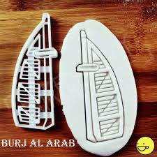 burj al arab cookie cutter tourist attractions biscuit