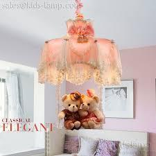 girls bedroom princess chandelier pendant lamps kids lamp com