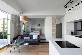 tiny japanese apartment custom space saving partitions transform tiny apartment in tel aviv