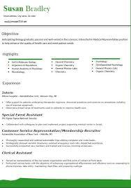 sample resume for medical representative insurance claims