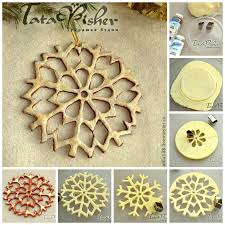 wonderful diy salt dough snowflake ornaments