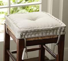 cushioned bar stool pb classic barstool cushion pottery barn