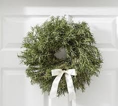 live christmas wreaths fresh wreaths garlands pottery barn