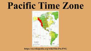 Pacific Time Zone Map Pacific Time Zone Youtube