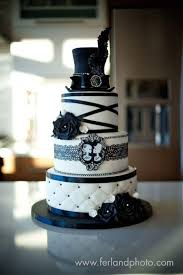 skull wedding cakes black and white wedding cake cakecentral