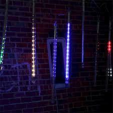 led meteor shower tube lights 10 x 50cm led meteor shower rain lights waterproof tubes string for