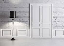 top house door texture with brick texture wall interior design