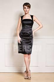 robe noir pour un mariage robe en satin élastique pour mariage persun fr