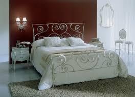 wrot iron bed double bed traditional wrought iron macramè bontempi casa