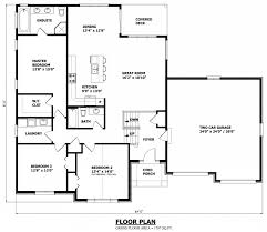 Floor Plans For Bungalows Raised Bungalow House Plans Canada Stock Custom House Plans