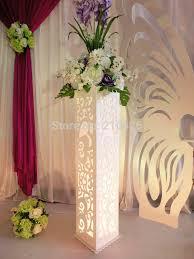 online get cheap wedding carved pillar hollow stand aliexpress