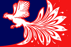 Frenxh Flag French Flag Of Palekh Rooster Edition Vexillology