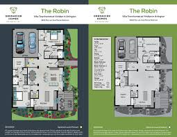 Dual Master Bedroom Floor Plans by Grenadier Homes Viridian