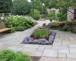 Stone Patio Images by Natural Stone Patio U0026 Walkway Lehigh Valley Landscape Company