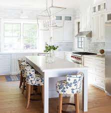 Coastal Kitchen Designs by Kitchen Unique 4 Kitchen Height Stools White Table Island Glass