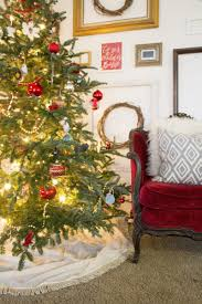 Moose Christmas Tree Skirt By Design Episode 26 Deck The Halls U2013 By Design