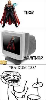 Ba Dum Tss Meme - thor meme by alefdeoliveirasantos memedroid