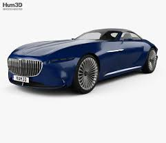 maybach sports car mercedes benz vision maybach 6 cabriolet 2017 3d model hum3d