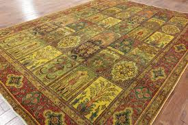 10 u0027 x 13 u0027 oriental gold wash overdyed authentic persian area rug h3008