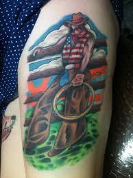 cowboy tattoo art and designs