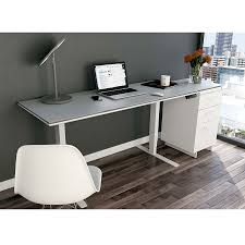 Modern Executive Desks by Bdi Centro White Executive Modern Lift Desk Eurway