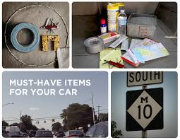 essential items to keep in your car experience onstar