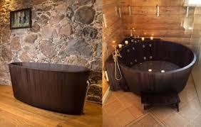 vasche da bagno legno vasca bagno legno khis 04 designbuzz it