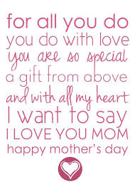 best 25 mothers day poems ideas on easy mothers day