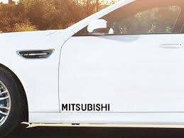 mitsubishi sticker mitsubishi stickers u0026 decals indecals com